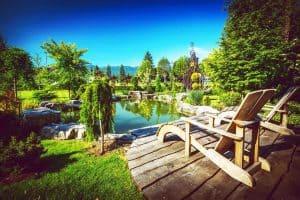 Garden Backyard Pond