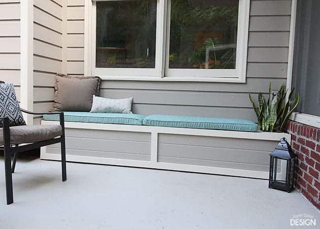 Diy Outdoor Banquette Final