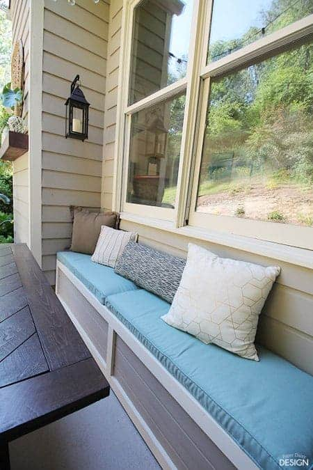 Diy Outdoor Banquette