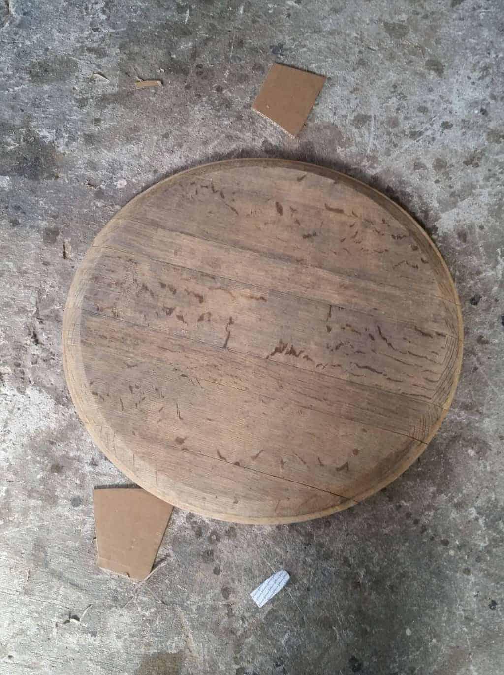wine-barrel-tray-sanding
