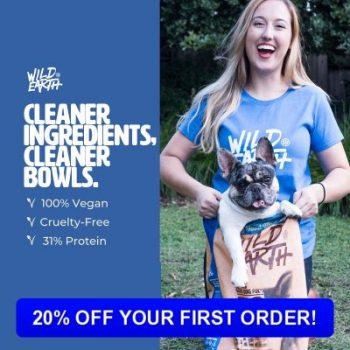 Wild Earth Natural Dog Food